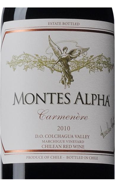 智利蒙特斯欧法卡门妮雅干红葡萄酒