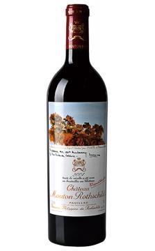 法国木桐庄园(武当王)红葡萄酒2004