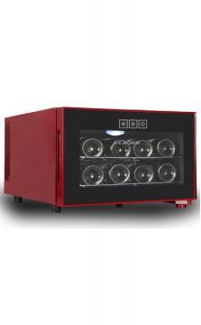 新朝8支装经典酒柜JC-23B半导体电子恒温触屏红酒柜