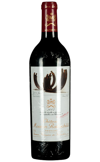 法国木桐庄园(武当王)干红葡萄酒2007原瓶进口红酒