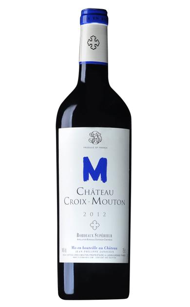 法国十字木桐古堡干红葡萄酒2012