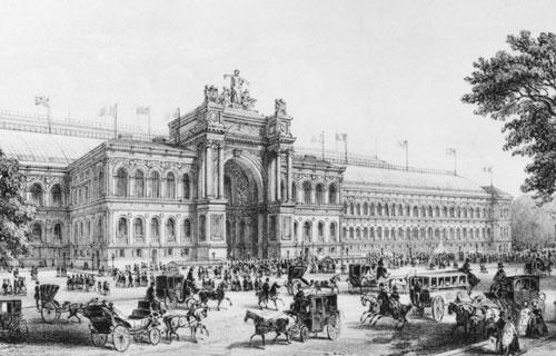 法国1855年巴黎世界博览会