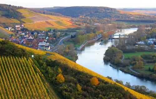 德国中部莱茵产区