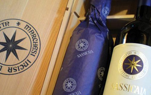 西施佳雅葡萄酒(Sassicaia)